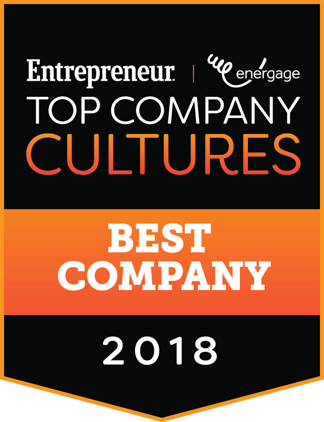 Entrepreneur Top Company Cultures Best Company 2018